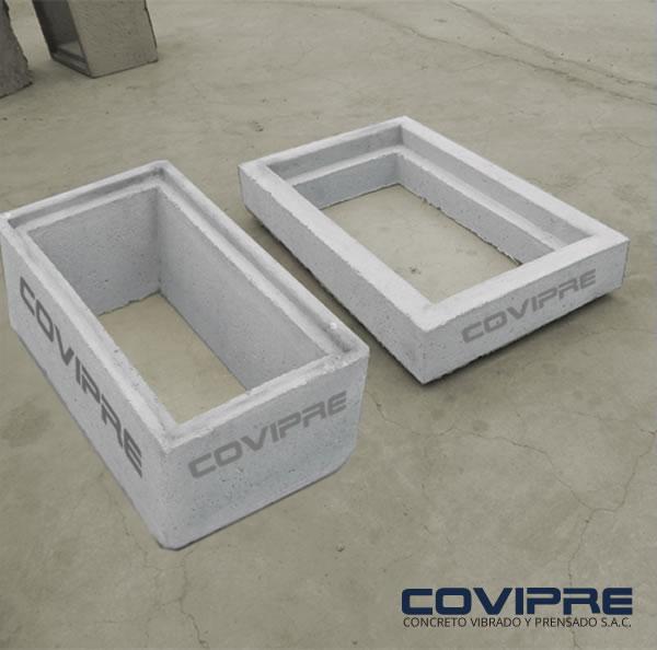 Caja de concreto para desague